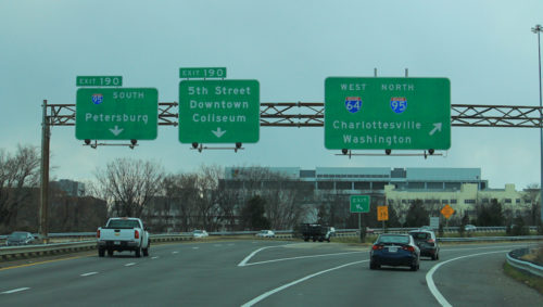 The ConnectRVA 2045 plan includes improvements to interstate highways. | Photo courtesy formulanone